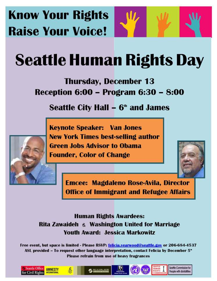 Seattle Human Rights Day 12 13 12 Flyer
