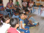 First session of the children's center