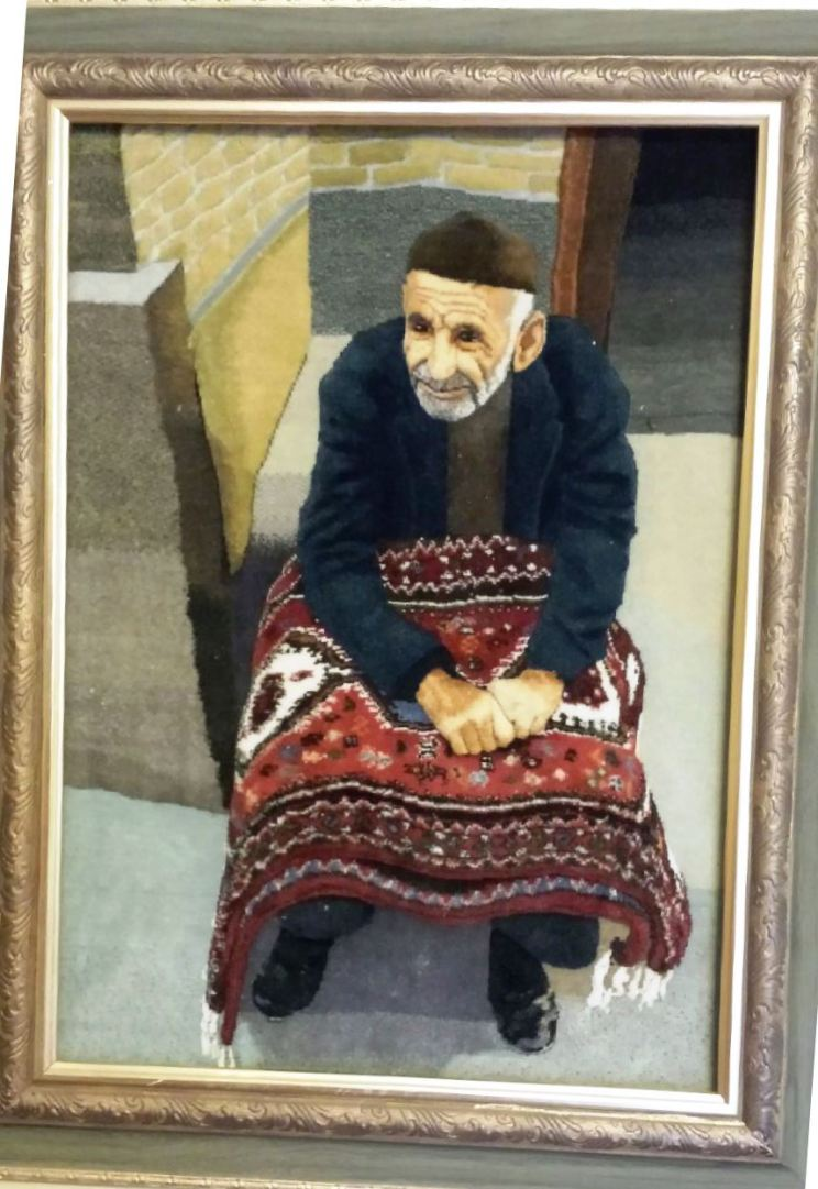The Persian portrait carpet was sold at the auction, contributing to the overall success of our fundraising efforts!