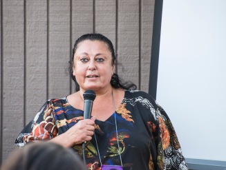 Rita Zawaideh, talking abut Salaam Cultural Center and the Malki-SCM Children's Center