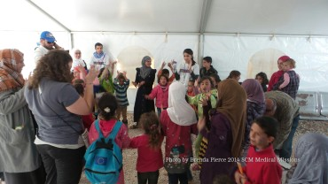 Playtime at Zaatari