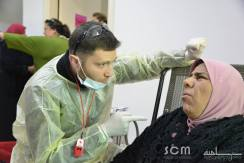 Our dentist who is with us on just about every mission