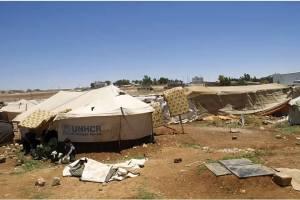 Arriving at Sahaab Camp